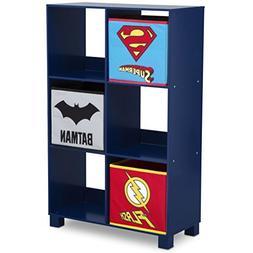 Delta Children 6 Cubby Deluxe Storage Unit, DC Comics Justic