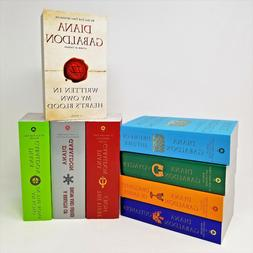 Outlander Series Volumes 1-8 Book Set By Diana Gabaldon Mass
