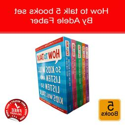 Adele Faber How To Talk Series 5 Books Collection  Box At Ho