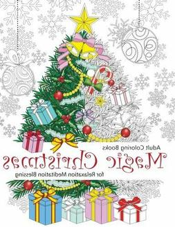 Adult Coloring Book: Magic Christmas by Cherina Kohey