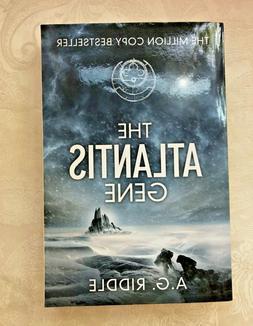 Atlantis Gene, A. G. Riddle, Origin Mystery Book One 2014 EX