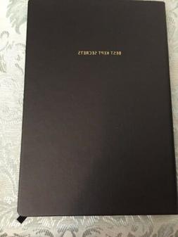 BOBBI BROWN BLACK JOURNAL NOTE BOOK NEW