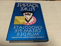 Chocolate Cream Pie Murder by Joanne Fluke  SIGNED 1st/1st