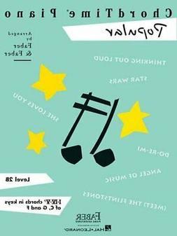 ChordTime Piano - Popular by Nancy Faber 9781616770044 | Bra