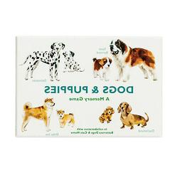Chronicle Books Book Dogs and Puppies: A Memory Game - Class