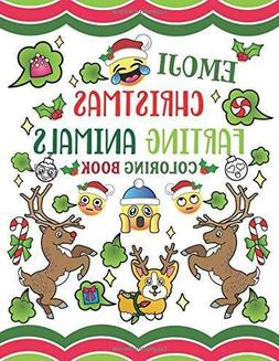 Emoji Christmas Farting Animals Coloring Book by Nyx Spectru