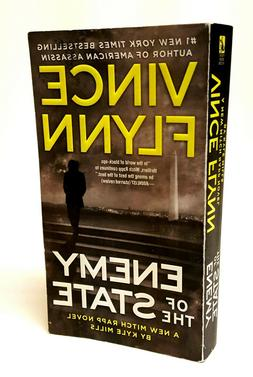 ENEMY OF THE STATE A Mitch Rapp Novel14 by Vince Flynn Used