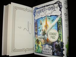Glee Chris Colfer signed Worlds Collide 1st printing hardcov
