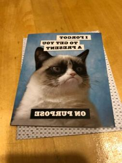 """Chronicle Books Grumpy Cat -""""I Forgot To Get You A Present"""