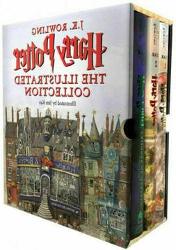 harry potter the illustrated collection books 1