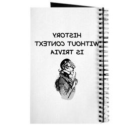 CafePress History Spiral Bound Journal Notebook, Personal Di