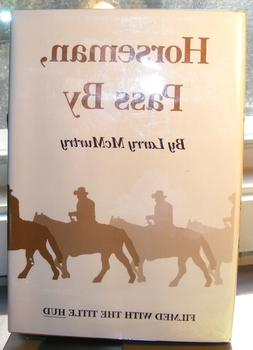 Horseman, Pass By by Larry McMurtry  HC.DJ. Reprint - Signed