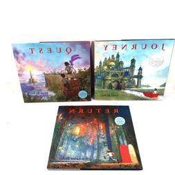 Journey, Quest, Return, Aaron Becker Wordless Trilogy Books