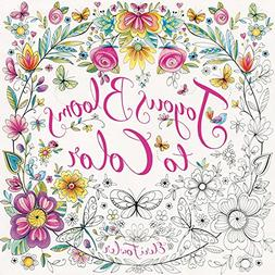 Joyous Blooms to Color: Coloring for Relaxation