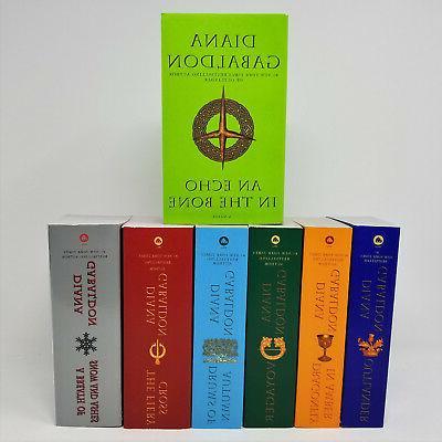diana gabaldon outlander paperback set collection series