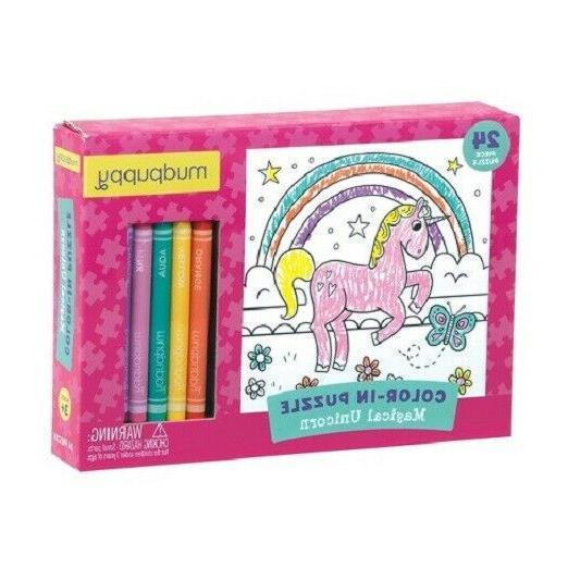 new 24pc magical unicorn jigsaw puzzles