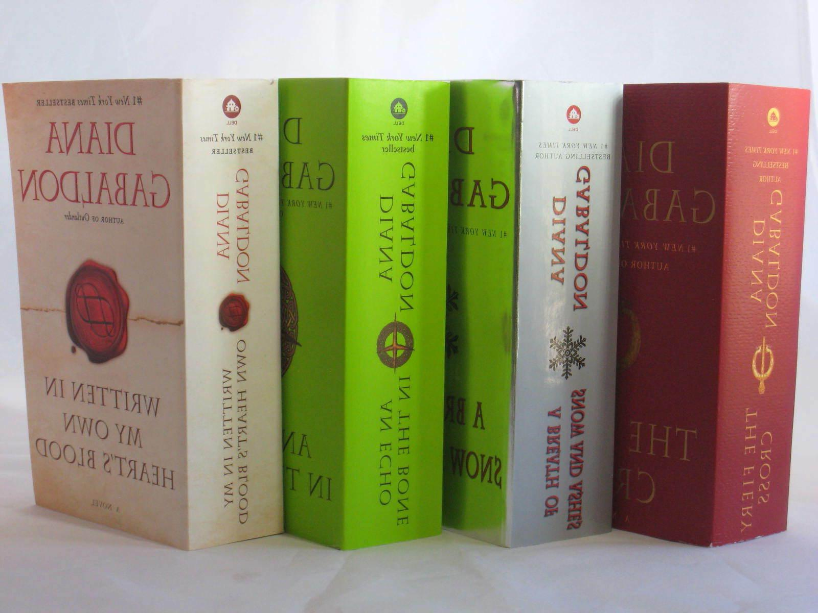 outlander series 5 8 books by diana