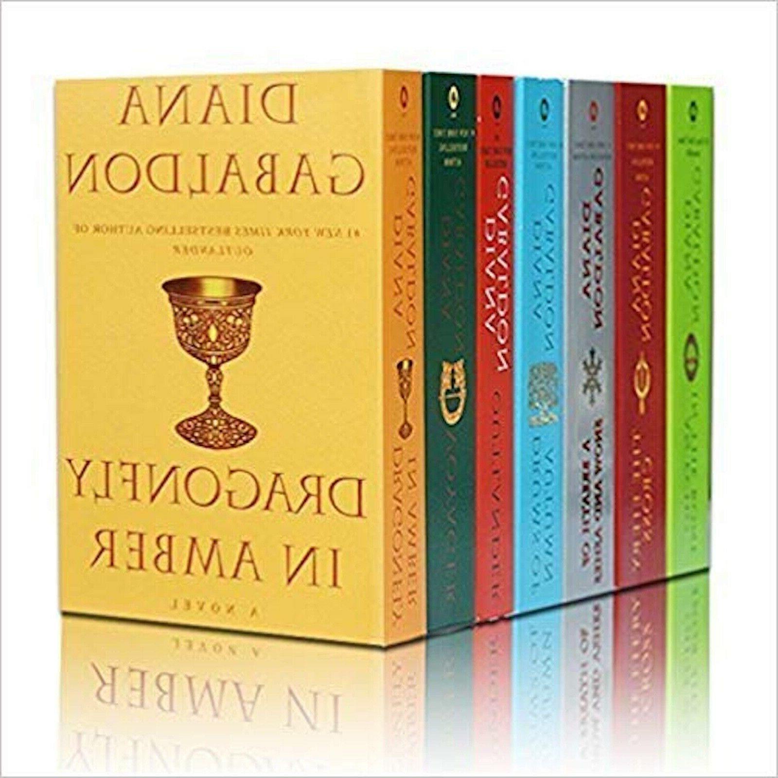 outlander series collection large trade paperback set