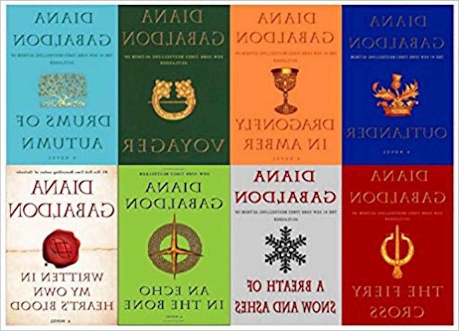 outlander series volumes 1 8 book set