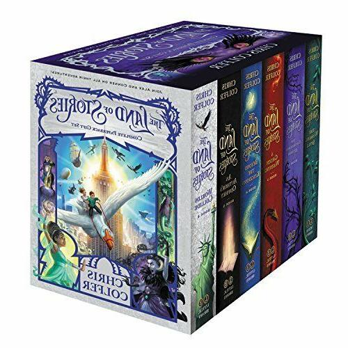 the land of stories 6 books series