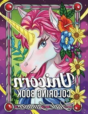 unicorn coloring book by jade summer 25