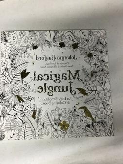 Magical Jungle By Johanna Basford: An Inky Expedition & Colo