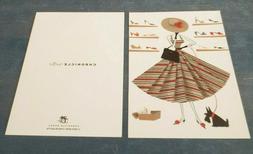 Mary Lynn Blasutta NOTE CARDS, Chronicle Books, 2003. Set of
