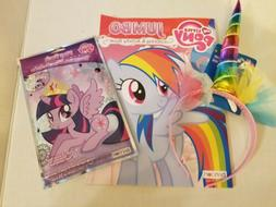 My Little Pony Jumbo Coloring Activity Book with   Unicorn H