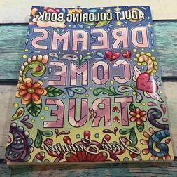 NEW Dreams Come True Jade Summer Adult Coloring Book Larger