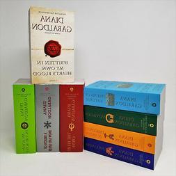 Outlander Series Volumes 1-8 Book Set By Diana Gabaldon - Pa
