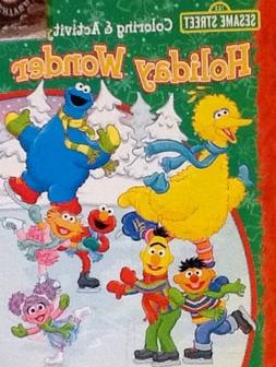 Sesame Street! Coloring & Activity Book: 32 Pages!!! Holiday