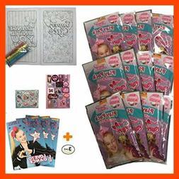 Set Of 12 Jojo Siwa Grab N Go Play Pack + 3 Nickelodeon Colo