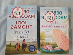 Set of 2 books Debbie Macomber Western Hearts & 1105 Yakima
