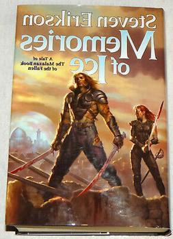 Steven Erikson Memories of Ice, Malazan 3, Hadcover, Book Cl