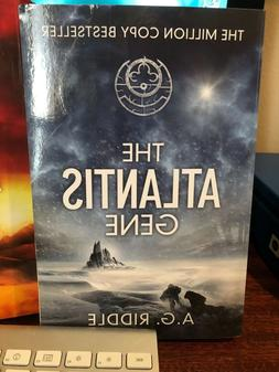 """""""The Atlantis Gene"""" By A.G. Riddle Paperback 2014"""