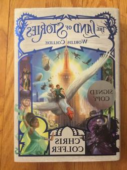 The Land of Stories Worlds Collide Hardcover by Chris Colfer